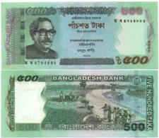 Bangladesh - 500 Taka 2017 UNC Lemberg-Zp - Bangladesh