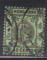 HONG KONG Scott # 119b Used - King George V Watermark 3 - Used Stamps