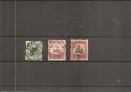 Cameroun ( Lot De 3 Timbres Différents Oblitérés) - Colonie: Cameroun