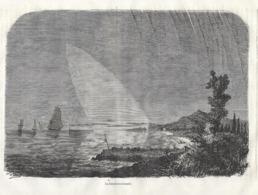 GRAVURE 1877....La LUMIERE ZODIACALE - Estampes & Gravures