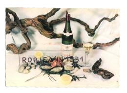 Gastronomie Francaise ( Retour De Peche ) Muscadet - Coquillage,huitres - Palourde ( Crevettes ) Citron - Küchenrezepte