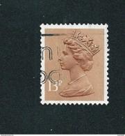 N° 1297 Elisabeth II  TIMBRE GRANDE BRETAGNE GB 1988 13P Stamp Royaume Uni - 1952-.... (Elisabetta II)