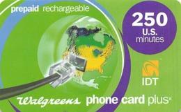 Walgreens Phone Card Plus - 250 US Minutes - IDT - Zonder Classificatie