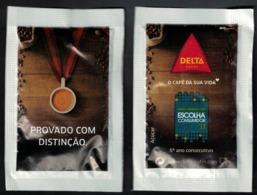 Portugal Sachet Sucre Sugar Delta Le Café De Votre Vie Escolha Consumidor Choix Du Consommateur - Sucres