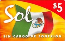 Sin Cargo De Conexion $5 - Phonecards