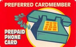 GTE Preferred Cardmember Prepaid Phone Card - Phonecards