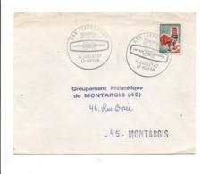 OBLITERATION CAR EXPOSITION DES PTT à ROYAN 1967 - Oblitérations Mécaniques (flammes)