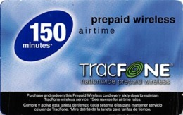 Tracfone 150 Minutes Prepaid Wireless - Phonecards