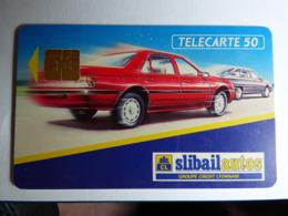 """Télécarte En 407 """"Slibail Auto"""" SO3 - 07/92 - BE - - 50 Unités"""