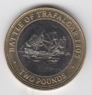 Gibraltar £2 Coin Battle Of Tradalgar 2013 Circulated - Gibraltar