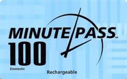 Minute Pass 100 Domestic Rechargeable - Phonecards