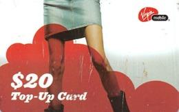 $20 Top-Up Card Virgin Mobile - Unclassified