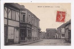 CP 61 BELLOU EN HOULME La Poste - France
