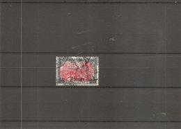 Turquie -Levant ( 51 Oblitéré) - Deutsche Post In Der Türkei