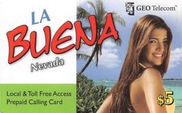 La Beuna Nevada GEO Telecom $5 Prepaid Calling Card - Phonecards