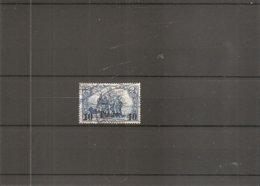 Turquie -Levant ( 38 Oblitéré) - Deutsche Post In Der Türkei