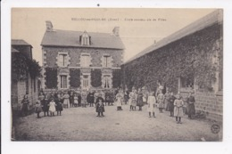 CP 61 BELLOU EN HOULME Ecole Communale De Filles - France