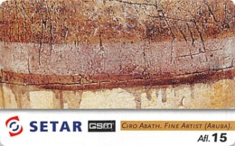 Setar GSM Ciro Abath Fine Artist (Aruba) - Phonecards