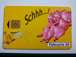"En 1446 ""Schweppes Cochon"" GEM1A - 08/95 - TBE - 50 Unités"