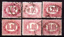 """Italia-A-0500: Emissione Di """"Servizio"""" 1875 (o) Used - Senza Difetti Occulti. - Dienstpost"""