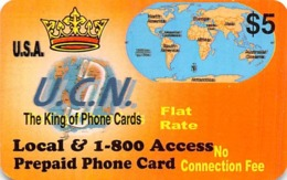 $5 U.C.N. The King Of Phone Cards - Unclassified
