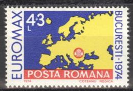 Rumänien 3219 ** Postfrisch EUROMAX - 1948-.... Républiques