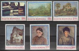 Rumänien 3175/80 ** Postfrisch Gemälde - 1948-.... Républiques