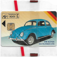 Spain - Telefonica - Cars - V.W. Käfer Ii, P-080 - 08.1994, 6.000ex, NSB - España