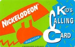 Nickelodeon Kid's Calling Card - Unclassified