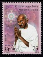 Serbia - 2019 - Mahatma Gandhi - 150th Birth Anniversary - Mint Stamp - Serbia
