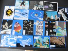 LOT  DE  45     CARTES  POSTALES  SUR  L ESPACE - 5 - 99 Cartes