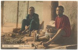 SIERRA LEONE - Village Blacksmith - Sierra Leone