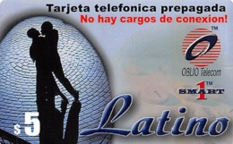 $5 Latino Tarjeta Telefonica Prepagada / Phone Card - Zonder Classificatie