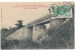 DAHOMEY - Chemin De Fer, Le Pont Du N'Zou, Kilomètre 175 - Fortier - Dahomey