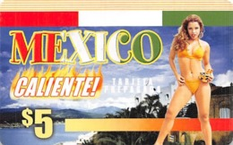 $5 Mexico Caliente Targeta Prepagara / Phone Card - Zonder Classificatie