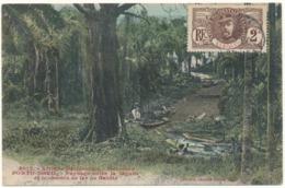 PORTO NOVO - Paysage Sur La Lagune, Chemin De Fer De Sakété - Fortier - Dahomey
