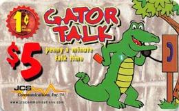 $5 Gator Talk  JCS Phone Card - Phonecards