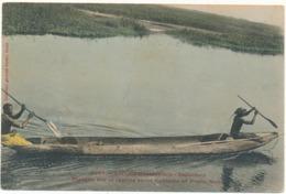 DAHOMEY - Pirogue Sur La Lagune - Fortier - Dahomey