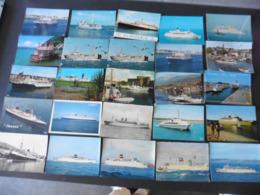 LOT  DE  92   CARTES  POSTALES  SUR  LES   BATEAUX - 5 - 99 Cartes