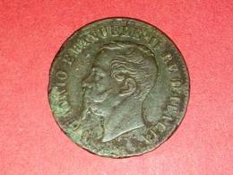 MONNAIES ITALIENNE  EMANUELE II  2 Centisimi 1862 NAPLE - 1861-1946 : Kingdom