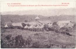 ETHIOPIE, HARAR - La Léproserie, Missionnaires Capucins Français - Ethiopie