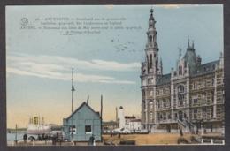 103922/ ANTWERPEN, Standbeeld Aan De Gesneuvelde Zeelieden 14-18, Het Loodswezen En Laplaud - Antwerpen