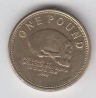 Gibraltar £1 Coin Skull Discovery 2009 Circulated - Gibraltar