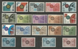19 Stamps DIFFERENT - MNH - Europa-CEPT - Art - 1967 - 1967