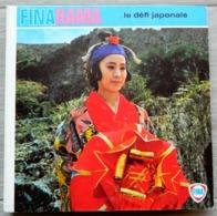 Disque 45 Tours Publicitaire FINA RAMA - LE DEFI JAPONAIS - Culturama à Diapositives Sonorisées - CHARLES GERARD - SCALA - Publicité