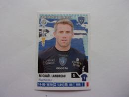PANINI Foot 2013-14 N°26 Sporting Club De Bastia Mickaël Landreau - Edition Française
