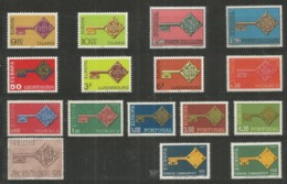 16 Stamps DIFFERENT - MNH - Europa-CEPT - Art - 1968 - 1968