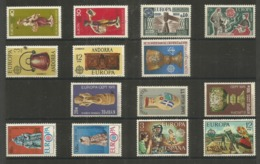 14 Stamps DIFFERENT - MNH - Europa-CEPT - Art - 1976 - Europa-CEPT