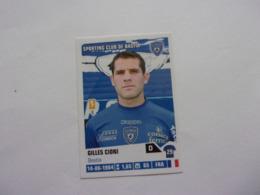 PANINI Foot 2013-14 N°27 Sporting Club De Bastia Gilles Cioni - Edition Française