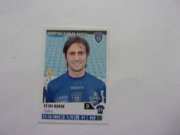 PANINI Foot 2013-14 N°29 Sporting Club De Bastia Fétri Harek - Edition Française